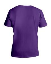 Kids and Cats Mom Shirts V-Neck T-Shirt back