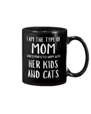 Kids and Cats Mom Shirts Mug thumbnail