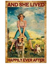 Farmer Girl Love Horses And Dogs 11x17 Poster front