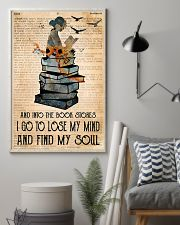 Into The Bookstore 11x17 Poster lifestyle-poster-1