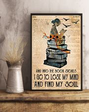 Into The Bookstore 11x17 Poster lifestyle-poster-3