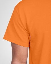 I'm Not Yelling I'm A Carpenter That's How We Talk Classic T-Shirt garment-tshirt-unisex-detail-front-sleeve-01