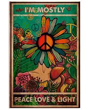 I'm Mostly Peace Love And Light 11x17 Poster front