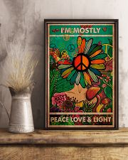 I'm Mostly Peace Love And Light 11x17 Poster lifestyle-poster-3