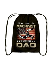 My Favorite Machinist Calls Me Dad Drawstring Bag thumbnail