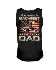 My Favorite Machinist Calls Me Dad Unisex Tank thumbnail