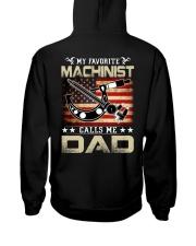 My Favorite Machinist Calls Me Dad Hooded Sweatshirt thumbnail