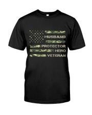 Dad Veteran Classic T-Shirt front