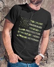 Dad Veteran Classic T-Shirt lifestyle-mens-crewneck-front-4