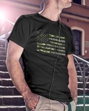 Dad Veteran Classic T-Shirt lifestyle-mens-crewneck-front-5