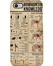 Bowhunting Knowledge Phone Case i-phone-7-case