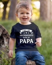 I Get My Awesomeness From My Papa  Youth T-Shirt lifestyle-youth-tshirt-front-4