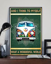 And I Think To Myself What A Wonderful World 11x17 Poster lifestyle-poster-2
