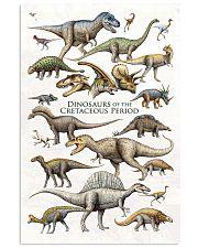 Dinosaurs - Cretaceous Period 11x17 Poster front