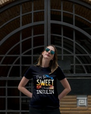 I'm So Sweet I Need Insulin Ladies T-Shirt lifestyle-women-crewneck-front-1