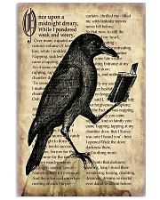 Raven And Book 11x17 Poster front