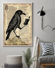 Raven And Book 11x17 Poster lifestyle-poster-1