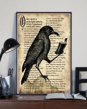 Raven And Book 11x17 Poster lifestyle-poster-2