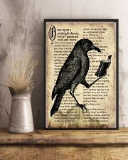 Raven And Book 11x17 Poster lifestyle-poster-3