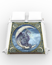 Dragon And Moon Duvet Cover - Queen aos-duvet-covers-88x88-lifestyle-front-02