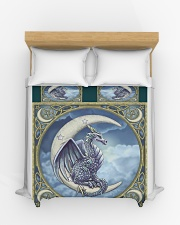 Dragon And Moon Duvet Cover - Queen aos-duvet-covers-88x88-lifestyle-front-03