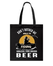 Love Fishing Tote Bag thumbnail