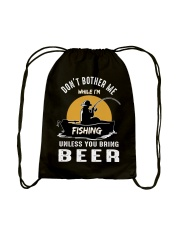 Love Fishing Drawstring Bag thumbnail