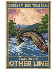 Love Trout Fly Fishing 11x17 Poster front