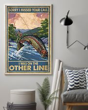 Love Trout Fly Fishing 11x17 Poster lifestyle-poster-1