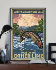 Love Trout Fly Fishing 11x17 Poster lifestyle-poster-2