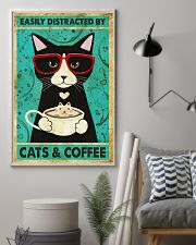 Black Cat And Coffee 11x17 Poster lifestyle-poster-1