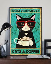 Black Cat And Coffee 11x17 Poster lifestyle-poster-2