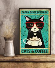 Black Cat And Coffee 11x17 Poster lifestyle-poster-3