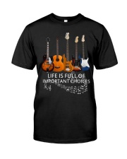 Love Guitar Father's Day Classic T-Shirt front