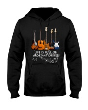 Love Guitar Father's Day Hooded Sweatshirt thumbnail