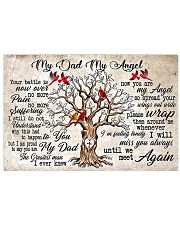 My Dad My Angel 24x16 Poster front