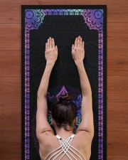 My God Yoga Mat 24x70 (vertical) aos-yoga-mat-lifestyle-23