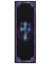 My God Yoga Mat 24x70 (vertical) front