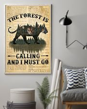 The Forest Is Calling Love Tiger Camping 11x17 Poster lifestyle-poster-1