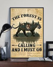 The Forest Is Calling Love Tiger Camping 11x17 Poster lifestyle-poster-2