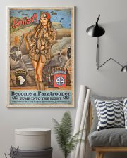 Become A Paratrooper Jump Into The Fight 11x17 Poster lifestyle-poster-1