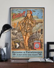 Become A Paratrooper Jump Into The Fight 11x17 Poster lifestyle-poster-2