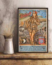 Become A Paratrooper Jump Into The Fight 11x17 Poster lifestyle-poster-3