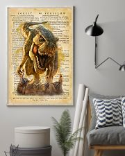 Dinosaur Vintage Dictionary Pages 11x17 Poster lifestyle-poster-1