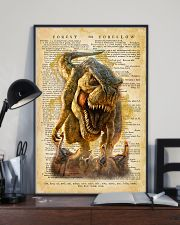 Dinosaur Vintage Dictionary Pages 11x17 Poster lifestyle-poster-2