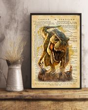 Dinosaur Vintage Dictionary Pages 11x17 Poster lifestyle-poster-3