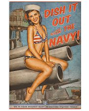 Dish It Out With The Navy 11x17 Poster front