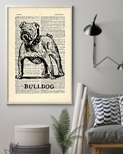 Bulldog Dog 11x17 Poster lifestyle-poster-1