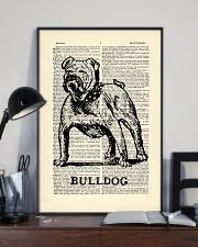 Bulldog Dog 11x17 Poster lifestyle-poster-2