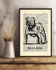 Bulldog Dog 11x17 Poster lifestyle-poster-3